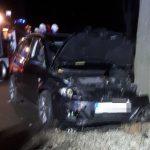 Zderzenie 2 aut w Sieroszewicach. Dwie osoby ranne