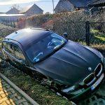 BMW i Volkswagen zderzyły się w Rososzycy. Oba wpadły do rowów