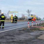 Wypadek w Szczurach Opla i Audi. Interweniował LPR