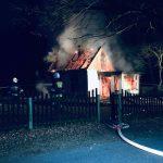 Spłonął budynek mieszkalny w Chynowej