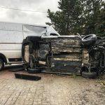 Zderzenie busa z Golfem w Latowicach