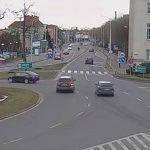 Kolizja na Rondzie Bankowym – 18 lutego 2020 r. (wideo)