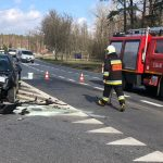 Volkswagenem wyjechał pod ciężarówkę w Antoninie