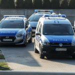 4 radiowozy i 2 motocykle policyjne w akcji na Wrocławskiej