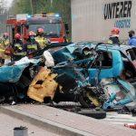 Seatem Cordoba wjechał wprost pod ciężarówkę na obwodnicy Ostrowa. 20-latek zginął na miejscu