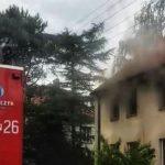 Mężczyzna spłonął w domu na Langiewicza