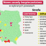 Powiat ostrowski żółtą strefą przez koronawirusa