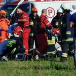 Wypadek paralotniarzy na lotnisku