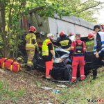 7 osób poszkodowanych po zderzeniu minivana i ciężarówki