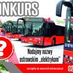 Wymyśl nazwę na elektryczne autobusy