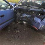 Zderzenie 4 aut w Ociążu