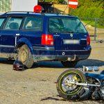 36-latek zginął na motocyklu podczas wyprzedzania