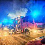 Kominek przyczyną pożaru domu